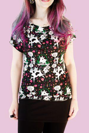 T-shirt Cow - Mala Strella